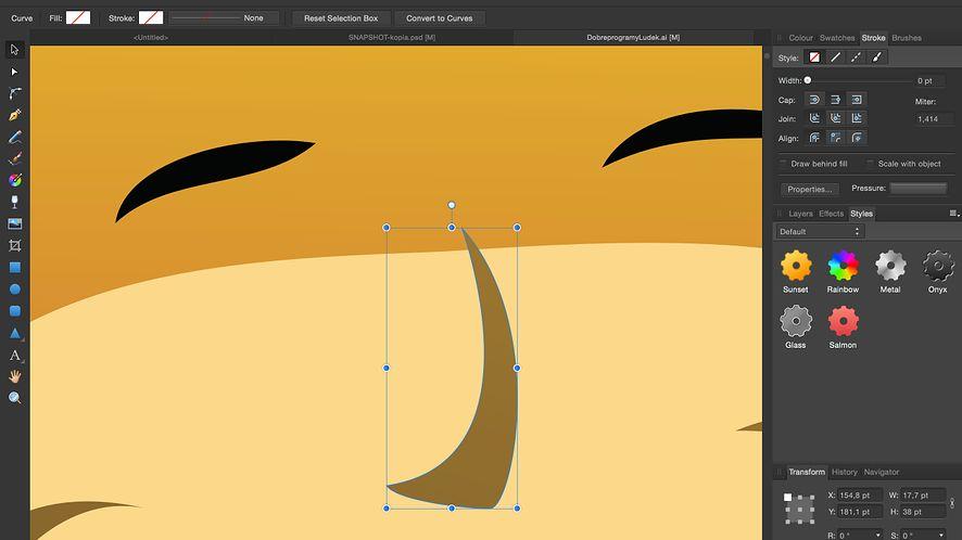 Affinity Designer ma już rok, do 20 października jest tańszy o 20%