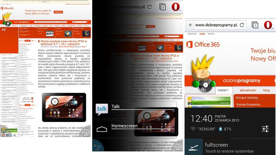 full!screen — tryb pełnoekranowy na Androidzie dla każdej aplikacji