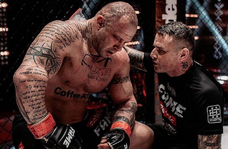 Gwiazdor Fame MMA przeszedł przemianę. Co za metamorfoza!