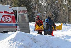 Tatry. Wypadek pod Rysami. Turysta spadł z dużej wysokości