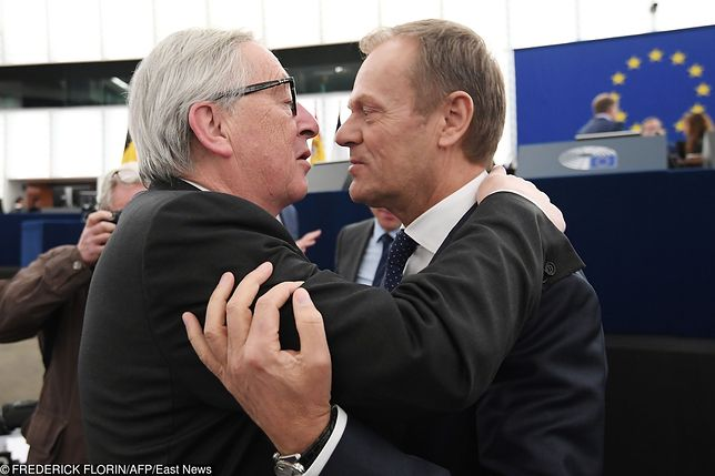 Jean-Claude Juncker i Donald Tusk.