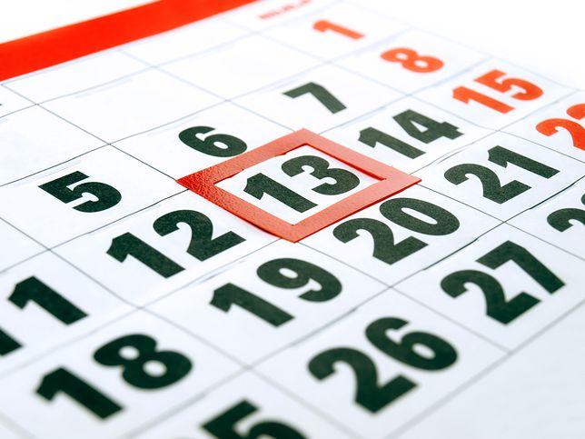 13 piątek wypada w tym roku w marcu i listopadzie