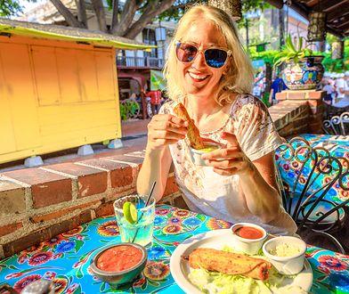 Restauracje i punkty z kuchnią meksykańską są w Los Angeles wszechobecne