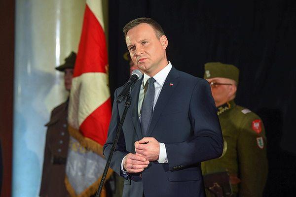 """Prezydent na premierze """"Historii Roja"""": """"dziękuję za ten film"""""""