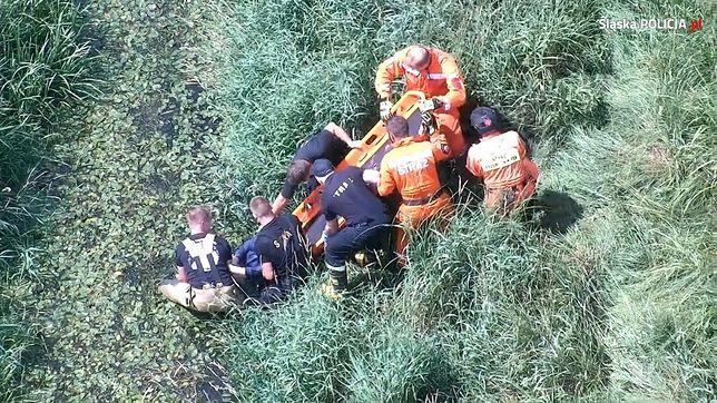 Tychy. Policjanci w ostatniej chwili odnaleźli 63-latkę.