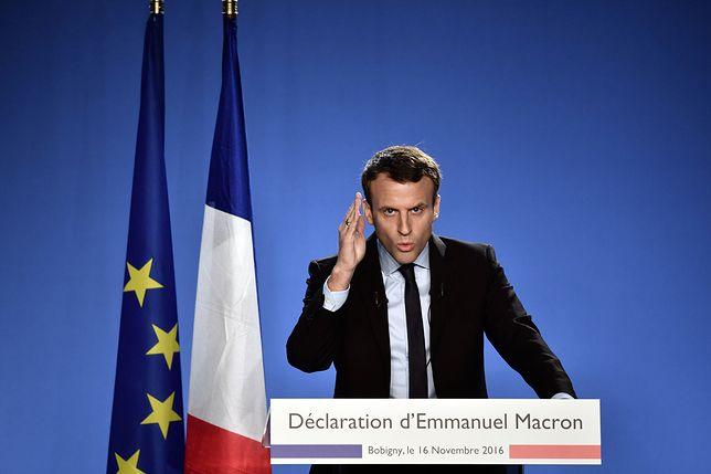 Francuski kandydat chce nałożenia sankcji na Polskę. W co gra Macron?