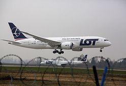 Dreamliner już wylądował - pierwszy taki samolot w Europie