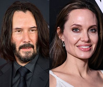Keanu Reeves i Angelina Jolie parą?