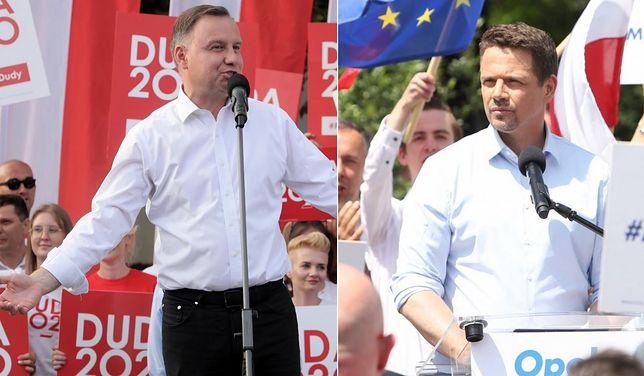 Najnowszy sondaż prezydencki IBRIS dla WP. Andrzej Duda ucieka Rafałowi Trzaskowskiemu