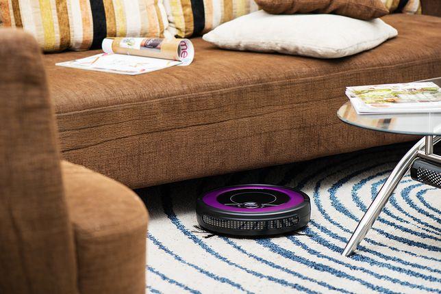 Współczesne roboty sprzątające inteligntnie omijają przeszkody i pracują na różnych powierzchniach