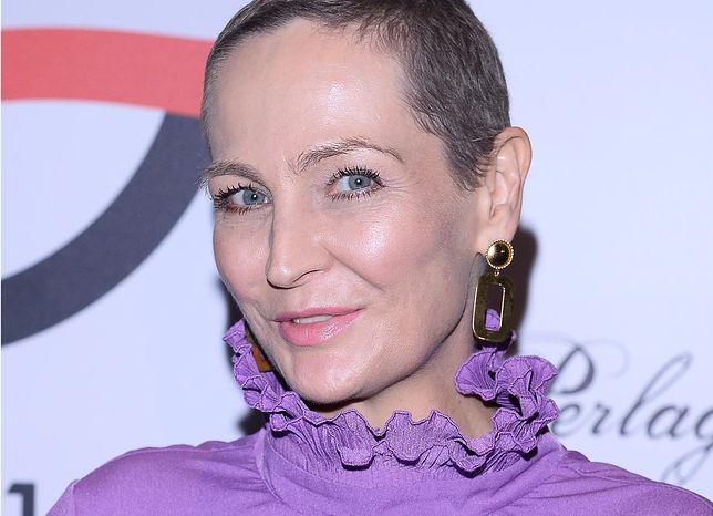 Anna Puślecka przestrzega inne kobiety przed rakiem piersi