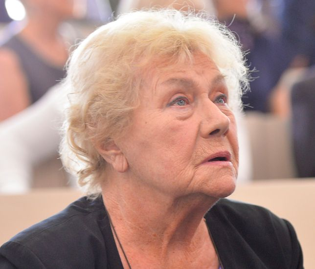 Teresa Lipowska może trafić do domu opieki