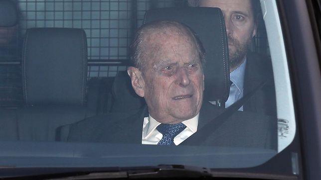 Książę Filip od 16 lutego przebywa w szpitalu