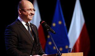 Wyniki wyborów do Europarlamentu 2019. Na zdj. Adam Bielan (PiS)
