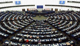UE. Sala plenarna Parlamentu Europejskiego.
