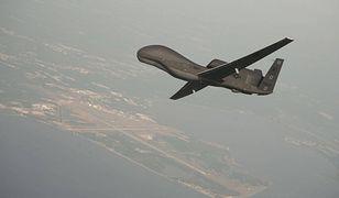 RQ-4 Global Hawk - takiego drona zestrzelili Irańczycy nad cieśniną Ormuz