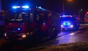 Bytom. W pożarze spłonęły trzy auta.
