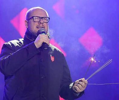 Paweł Adamowicz podczas finału WOŚP