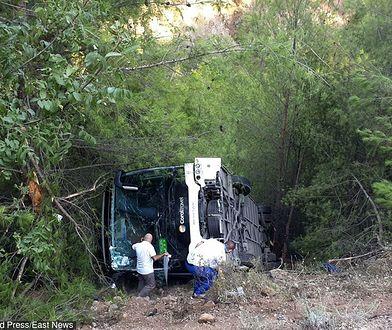 Wypadek wydarzył się w pobliżu miejscowości Kemer
