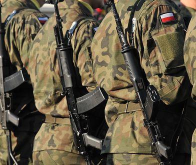 Żołnierz spisał się na medal