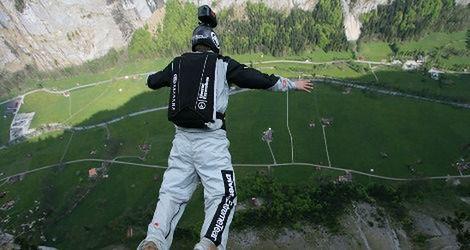 Skoczył z największego wiaduktu w Europie