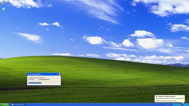 Windows XP gotowy do pracy