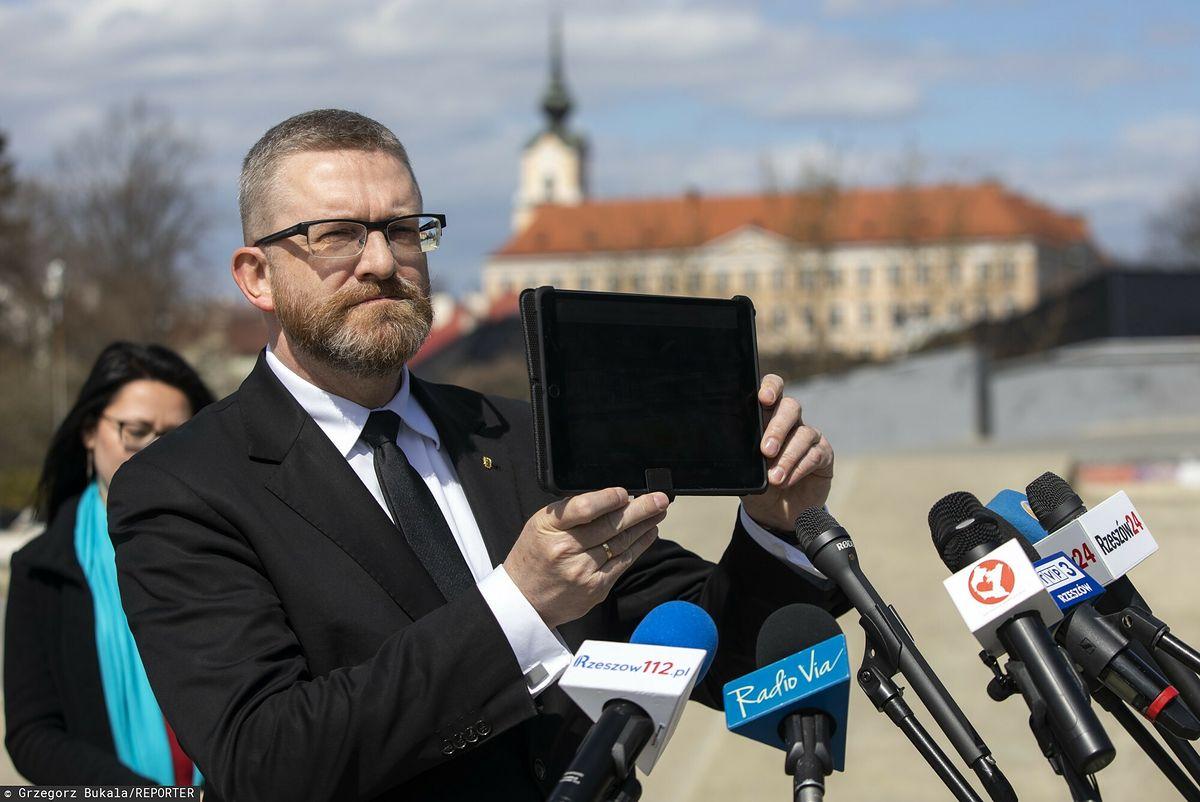 Rzeszów. Kandydat na prezydenta miasta Grzegorz Braun