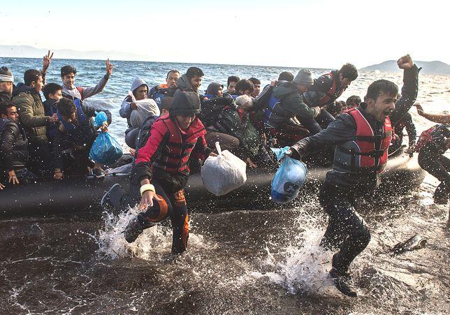 Coraz więcej migrantów z Turcji. Przepełnione obozy na greckich wyspach