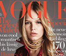"""Anna Ewers na okładce """"Vogue Germany"""""""