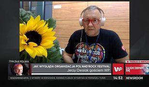 Jerzy Owsiak odpowiada Kultowi ws. koncertów dla zaszczepionych