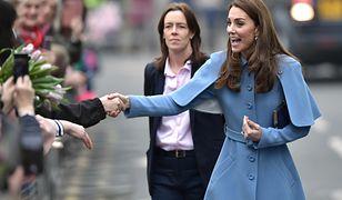 Księżna Kate i Emma Probert w 2019 r.