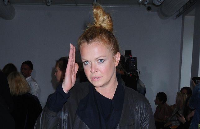 Daria Widawska wybrała botki na jesień. Postawiła na zwierzęcy wzór