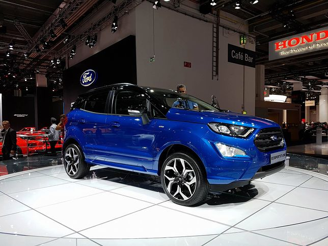 Ford Ecosport na salonie samochodowym we Frankfurcie
