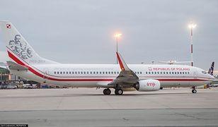 Rządowy samolot, którym przedstawiciele władz RP zapewne polecą do Smoleńska i Katynia.