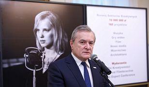 """Prof. Piotr Gliński został """"Człowiekiem Wolności"""" 2018 r."""