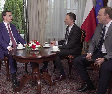 """Premier Mateusz Morawiecki o aferze bananowej: """"Średnio się tym interesowałem"""""""