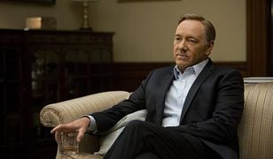 Kevin Spacey jako Frank Underwood w serialu The House of Cards Netflixa