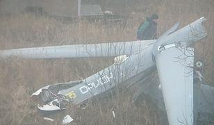 """Dron wojskowy """"Orion"""" rozbił się w miejscowości Listwianka"""