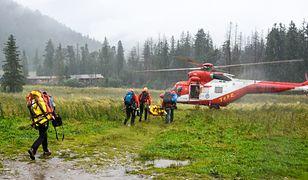 Tatry. Akcja ratunkowa TOPR po czwartkowych burzach