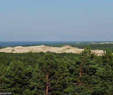 Zwłoki obywatela Danii turyści z Niemiec znaleźli w pobliżu wydm w Czołpinie