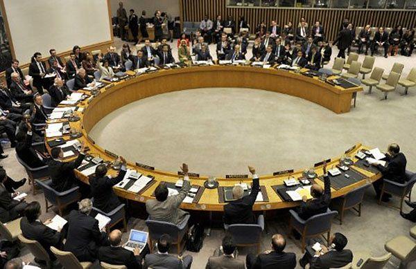 Zebranie Rady Bezpieczeństwa ONZ