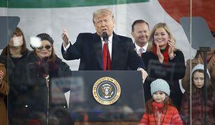USA. Prezydent Donald Trump podczas Marszu dla Życia w Waszyngtonie, 24 stycznia br.