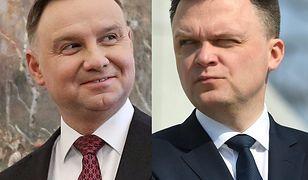 Andrzej Duda kontra Szymon Hołownia? Do takiego pojedynku wezwał szef sztabu prezydenta