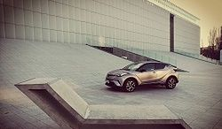 Toyota C-HR 1.2 - test