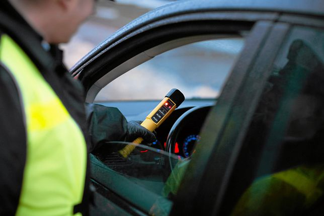 Badanie trzeźwości wykazało u kobiety 0,78 promila alkoholu