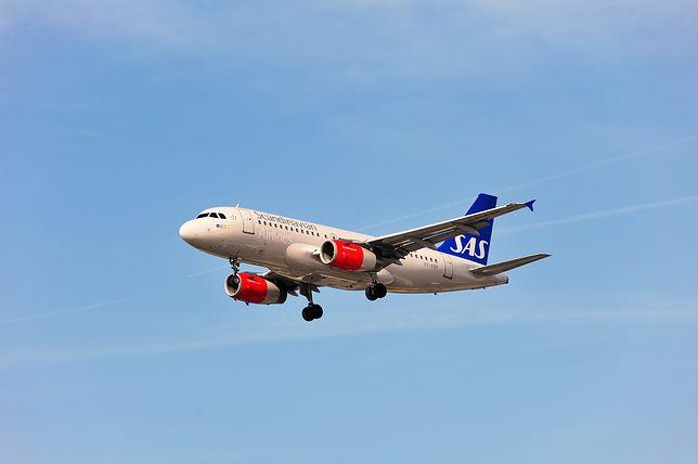 Samolot linii lotniczych SAS latają na 120 trasach na całym świecie