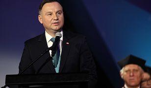 Prezydent Andrzej Duda zdobył się na osobiste wyznanie w czasie uroczystości AGH