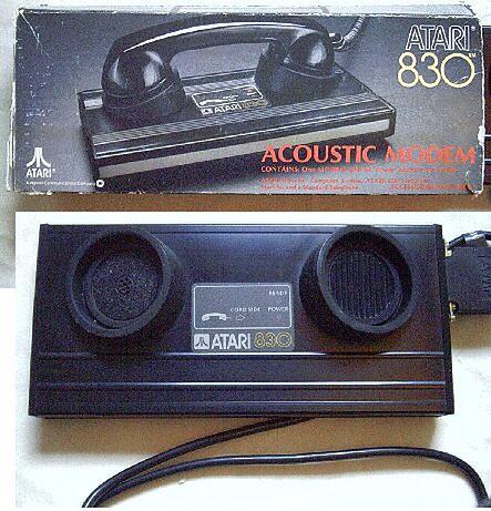 Modem Atari 830.
