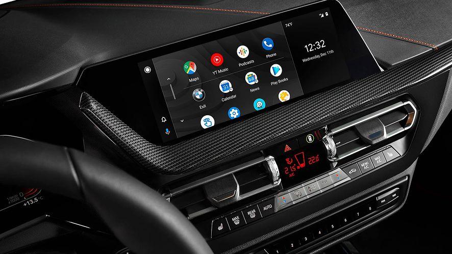 Android Auto dostał kolejną aktualizację, fot. materiały prasowe BMW