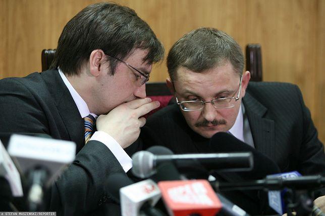 Krzysztof Józefowicz (po prawej) za poprzednich rządów PiS w latach 2005-2007 był wiceministrem sprawiedliwości, zastępcą Zbigniewa Ziobry
